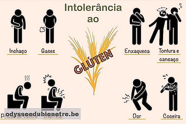 Alergia al gluten sintomas