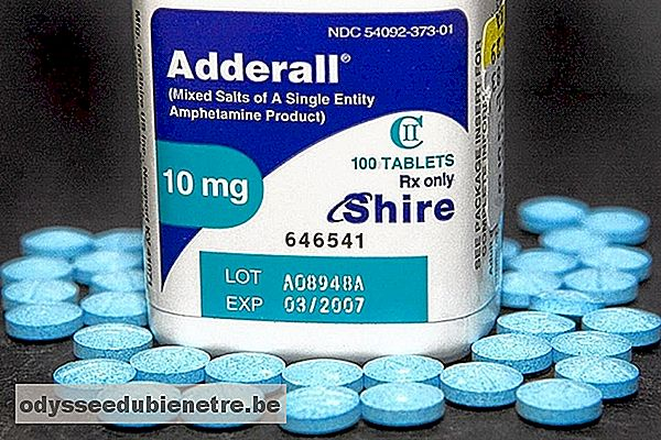 Anfetamina (Adderall)