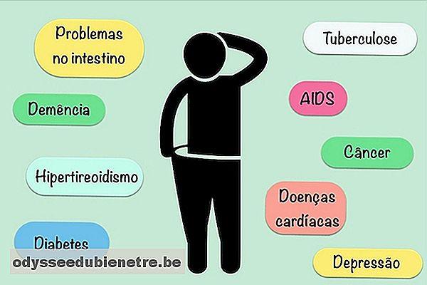 perdere peso quando preoccuparsi
