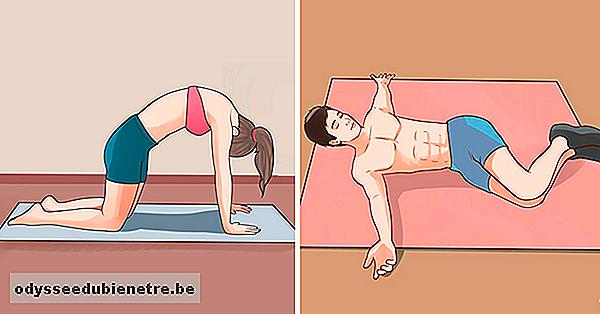 Esercizi di stretching per alleviare il dolore della colonna vertebrale - Bagno caldo in gravidanza ...