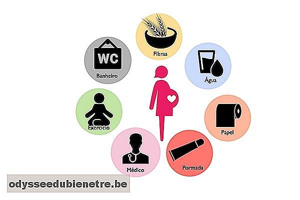 Como curar hemorroides externas en el embarazo