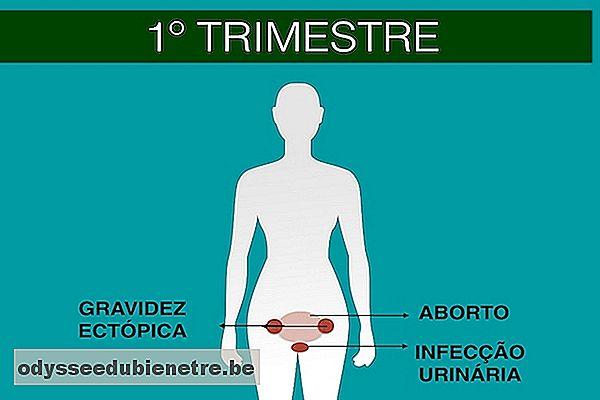 dolores abdominales en el embarazo primer trimestre